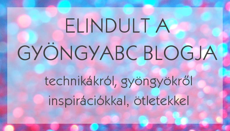 Elindult a GyöngyABC blogja