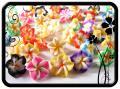 Fimo virág - 15x9mm