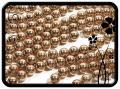 Hematit golyó - 6mm - rose gold 35db